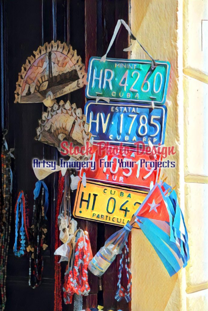 Cuban Car Plates 2