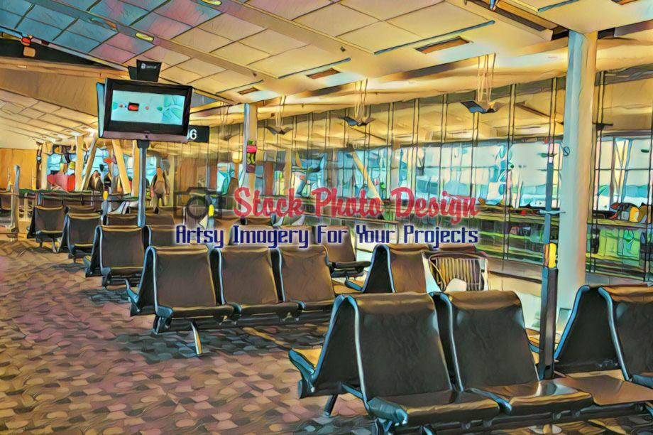 Airport Lobby 3