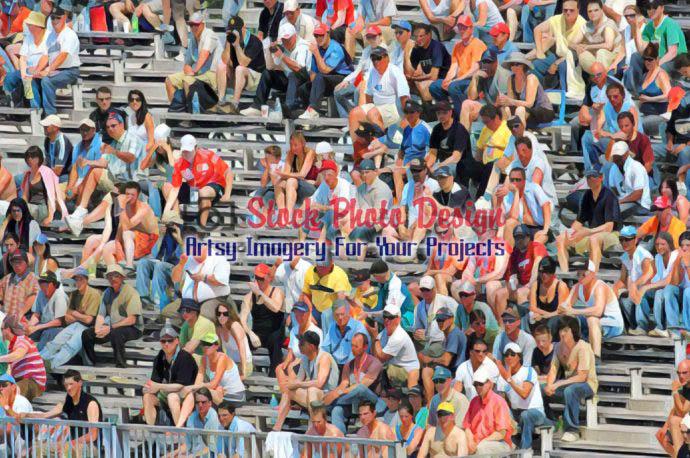 Spectators at a Public Event 2