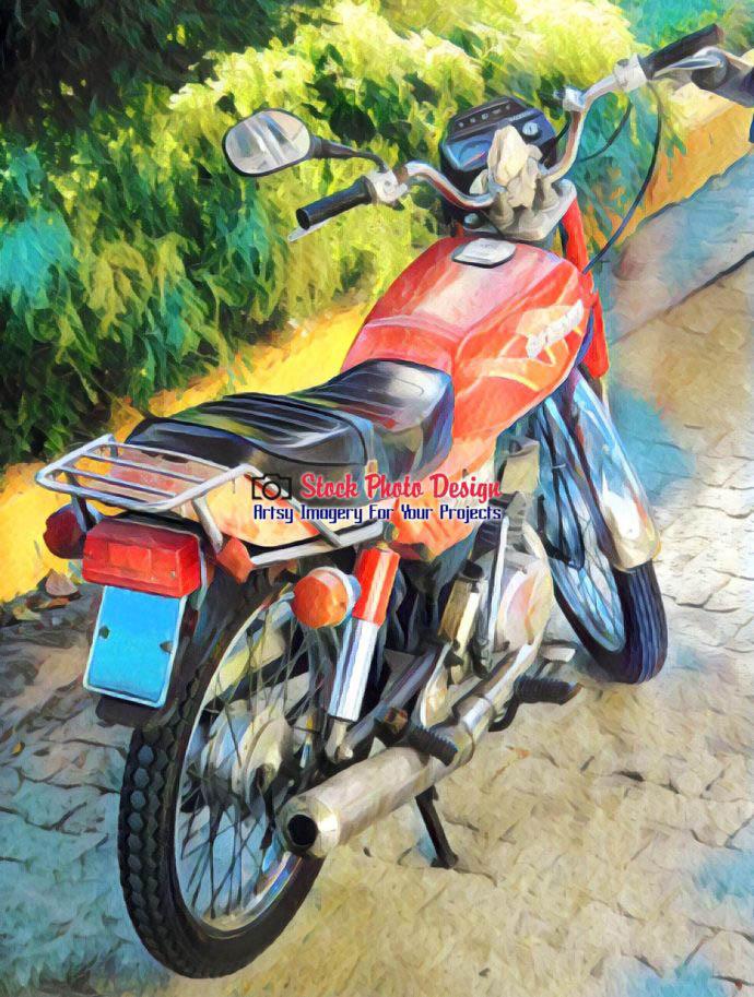 Vintage Cuban Motorcycle 3