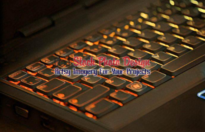 Colorful Illuminated Keyboard
