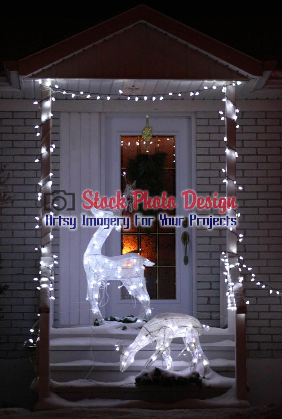 Home Entrance Christmas Decorations 6