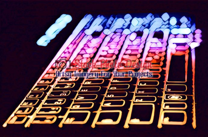 Colorful Illuminated Keyboard 11