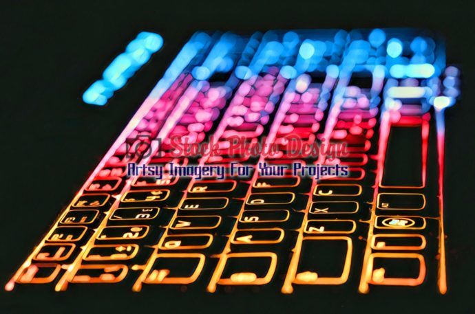Colorful Illuminated Keyboard 9