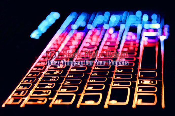 Colorful Illuminated Keyboard10