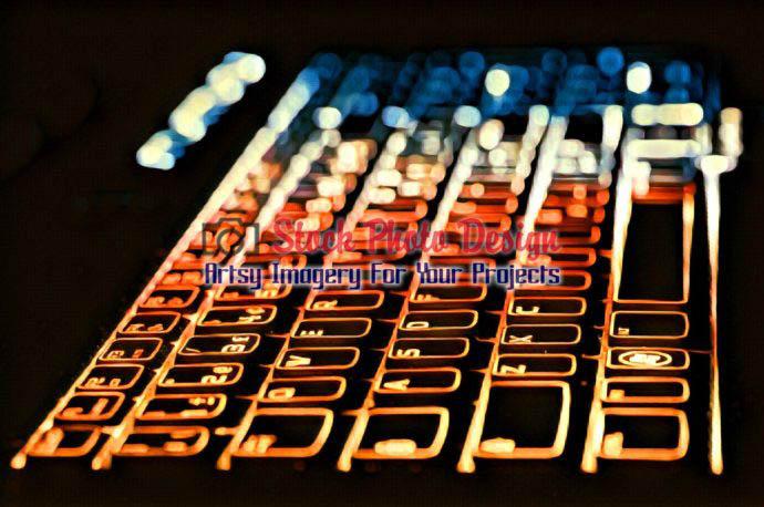 Colorful Illuminated Keyboard 13
