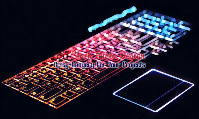 Colorful Illuminated Keyboard 5