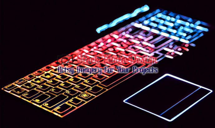 Colorful Illuminated Keyboard 4