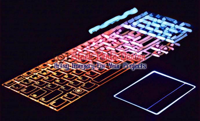 Colorful Illuminated Keyboard 6