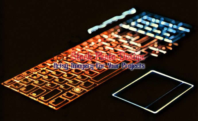 Colorful Illuminated Keyboard 7