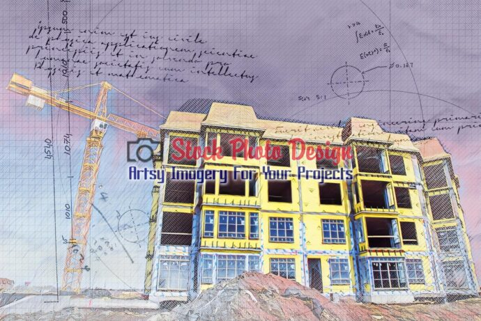 Apartment Construction Project Sketch 1
