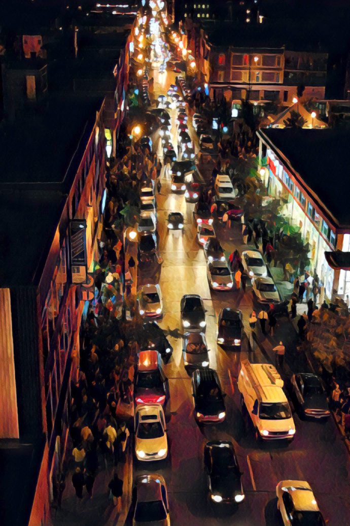 Night Traffic 2