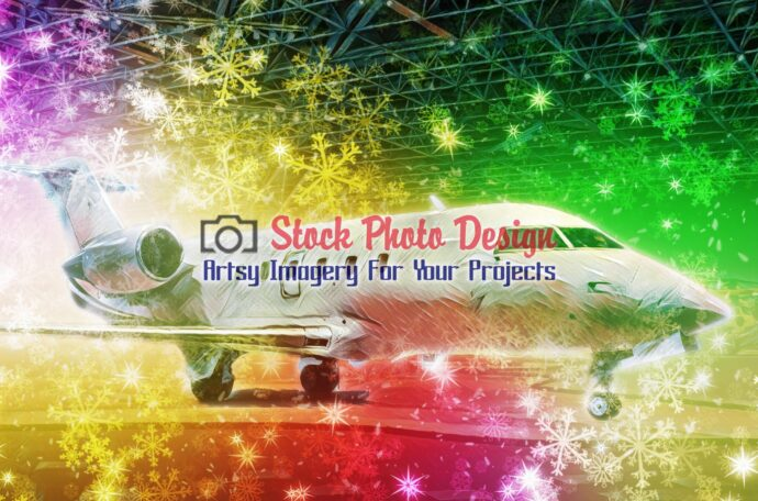 Colorful Airplane 01