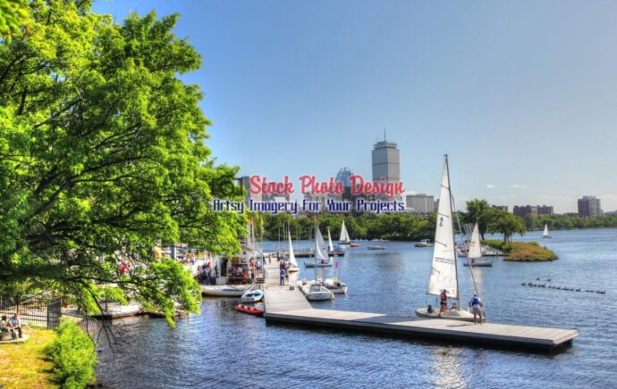 Boston Charles River in HDR