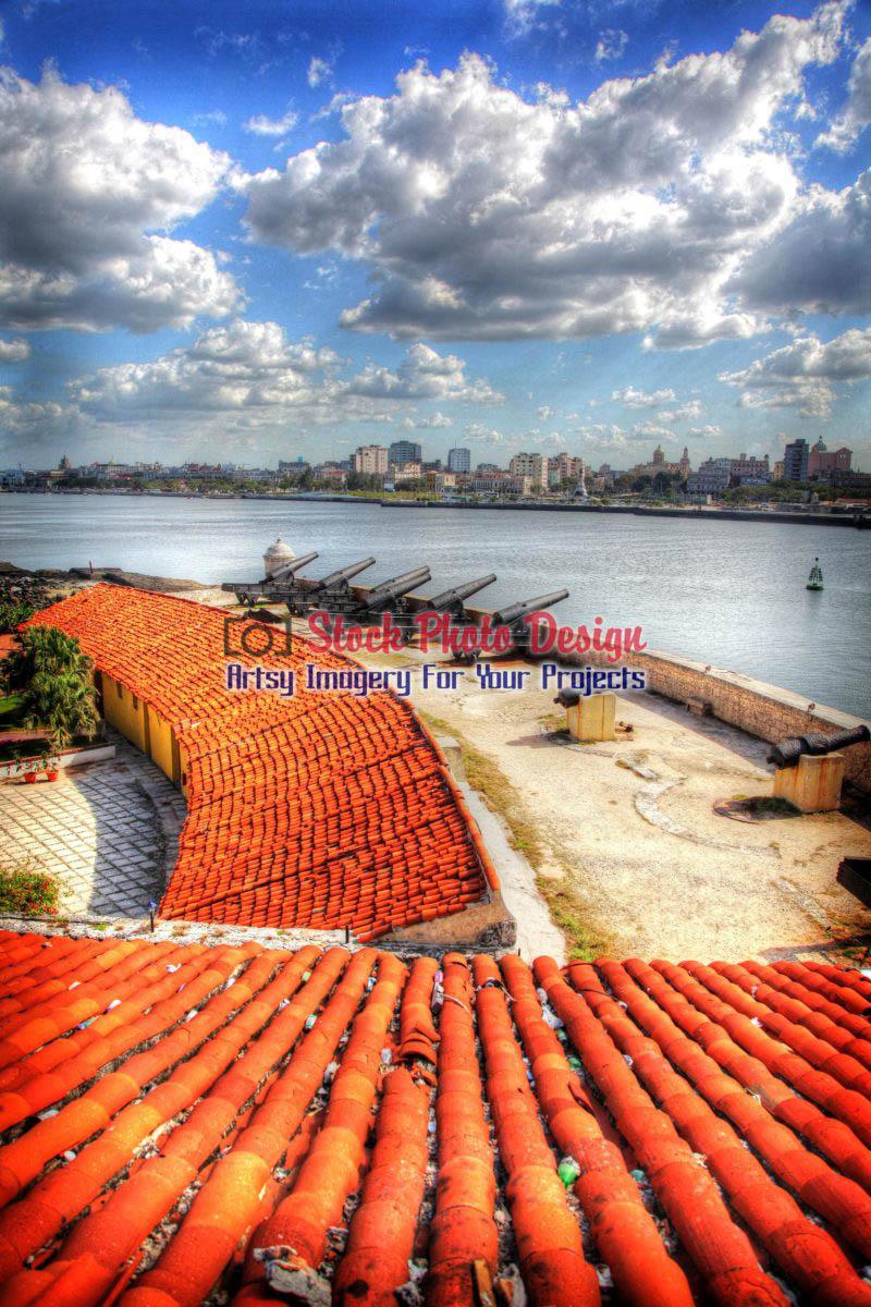 Havana Fort in HDR