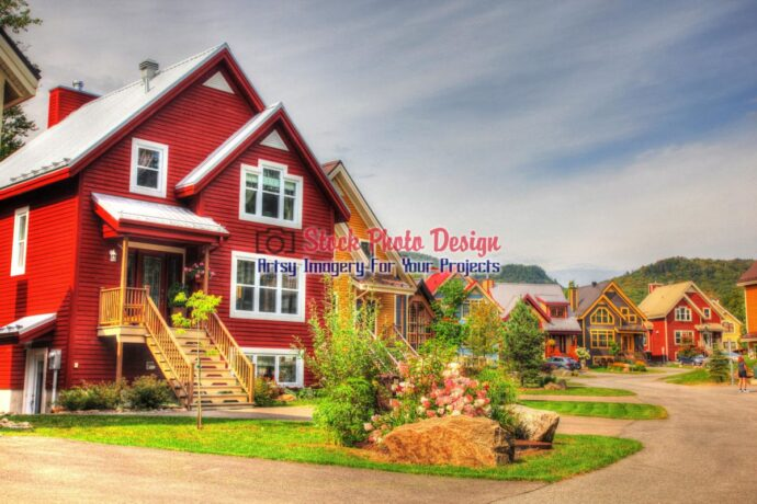 Nordic Chalets in HDR