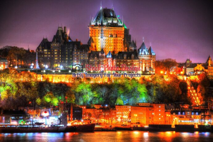 Beautiful Old Quebec in HDR