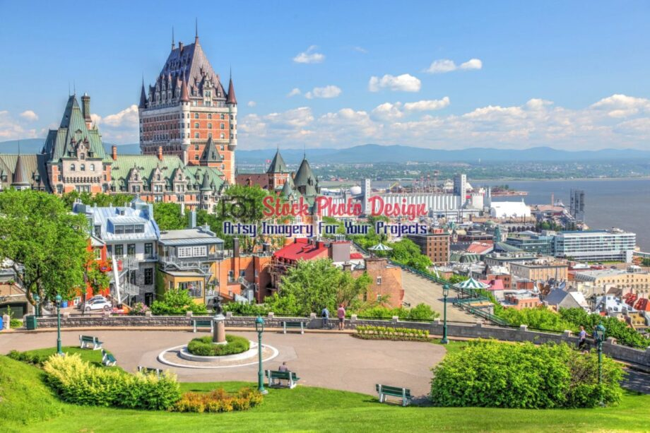 Beautiful Quebec City in HDR