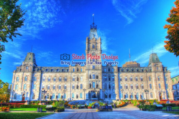 Quebec Parliament Building in HDR