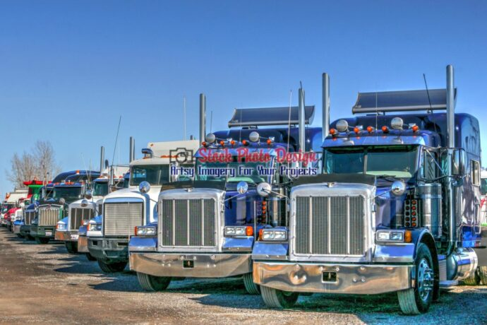 Modern Truck Fleet in HDR
