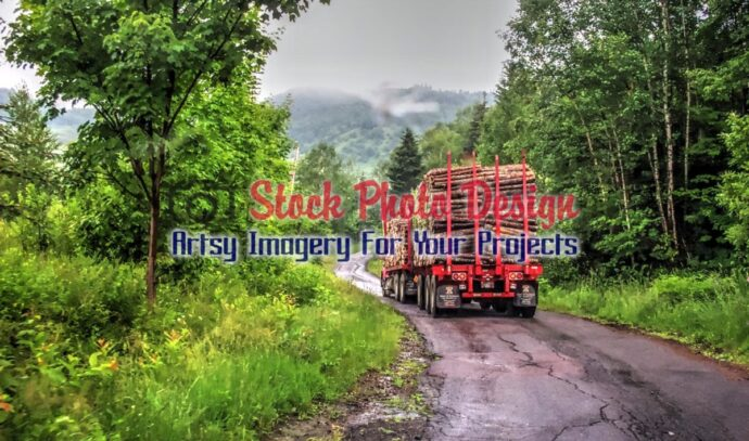 Wood Truck in HDR