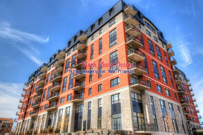 Modern Apartment Building in HDR