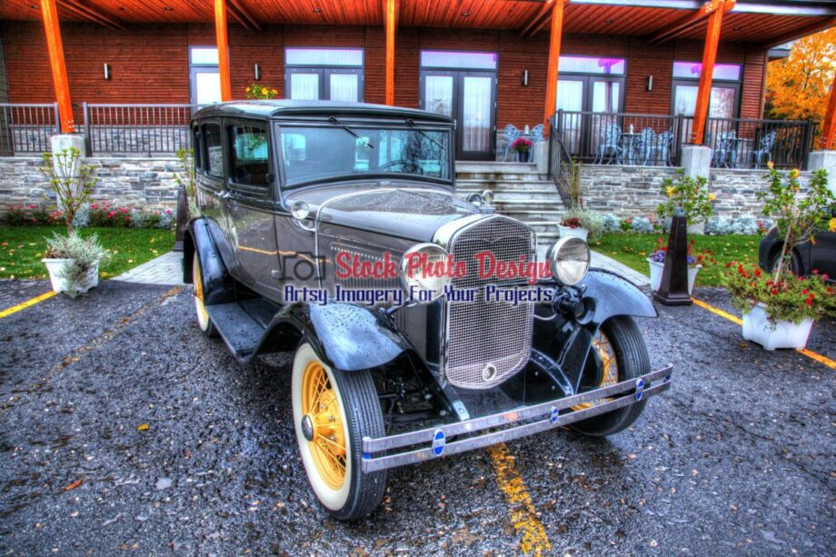 Historic Car in HDR
