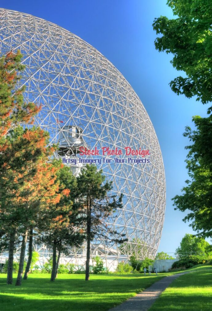 Montreal Biosphere Building in HDR