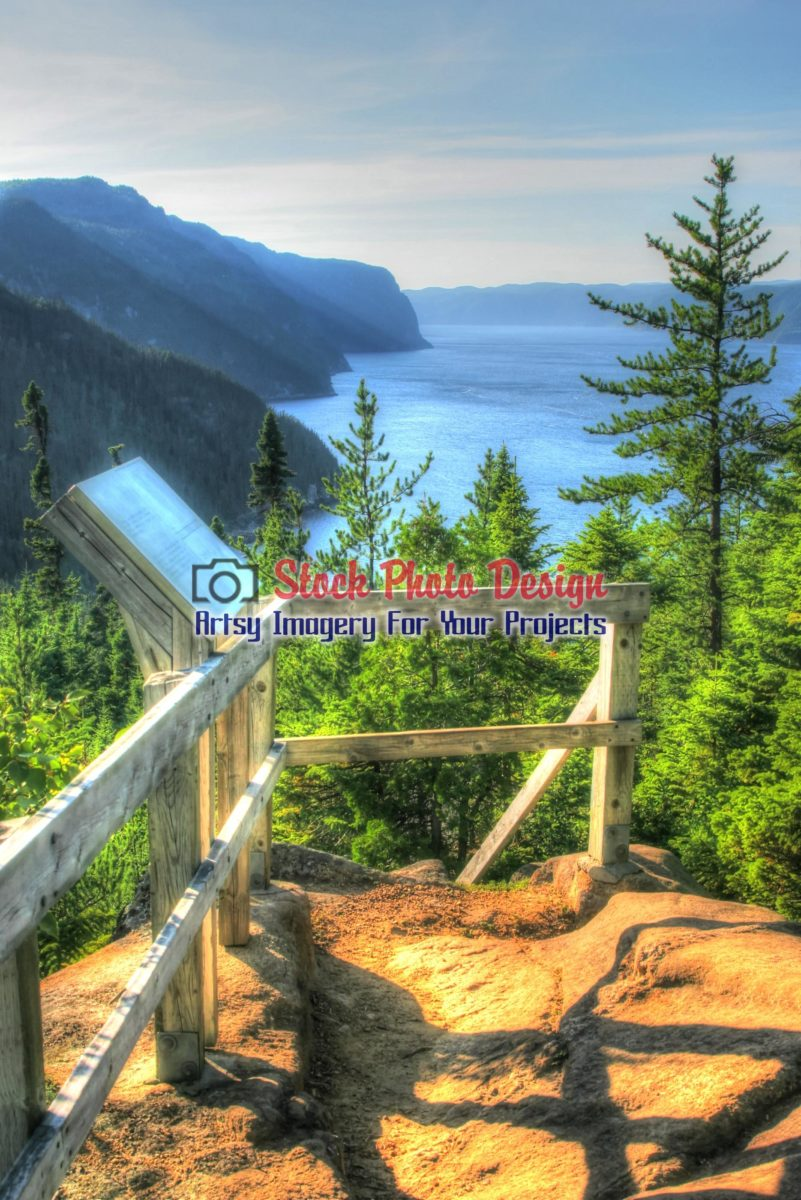 Saguenay River in HDR - Dimensions: 1869 by 2800 pixels