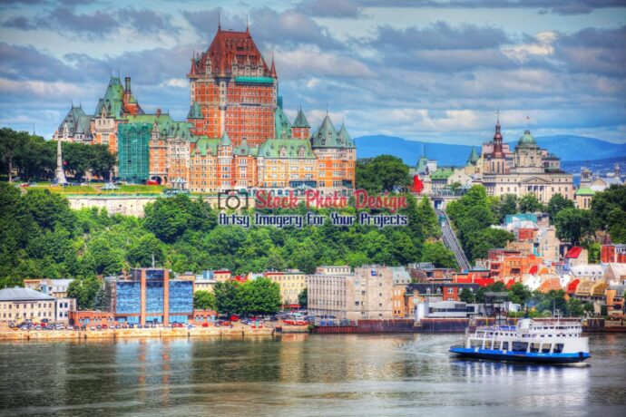 Old Quebec City District in HDR