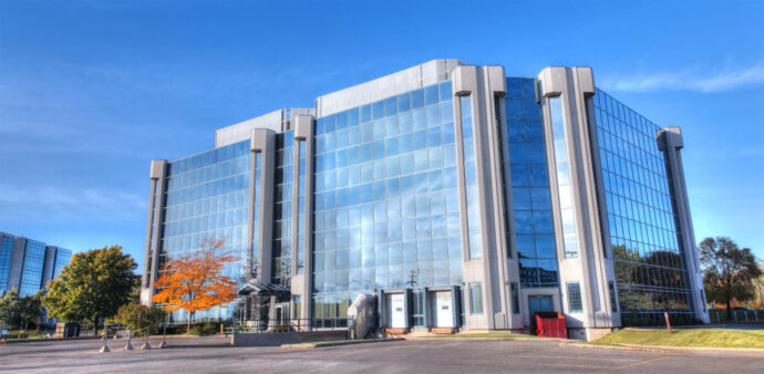 Modern Industrial Building in HDR