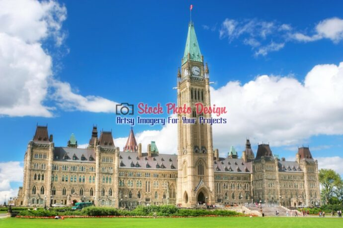Ottawa Parliament Building in HDR