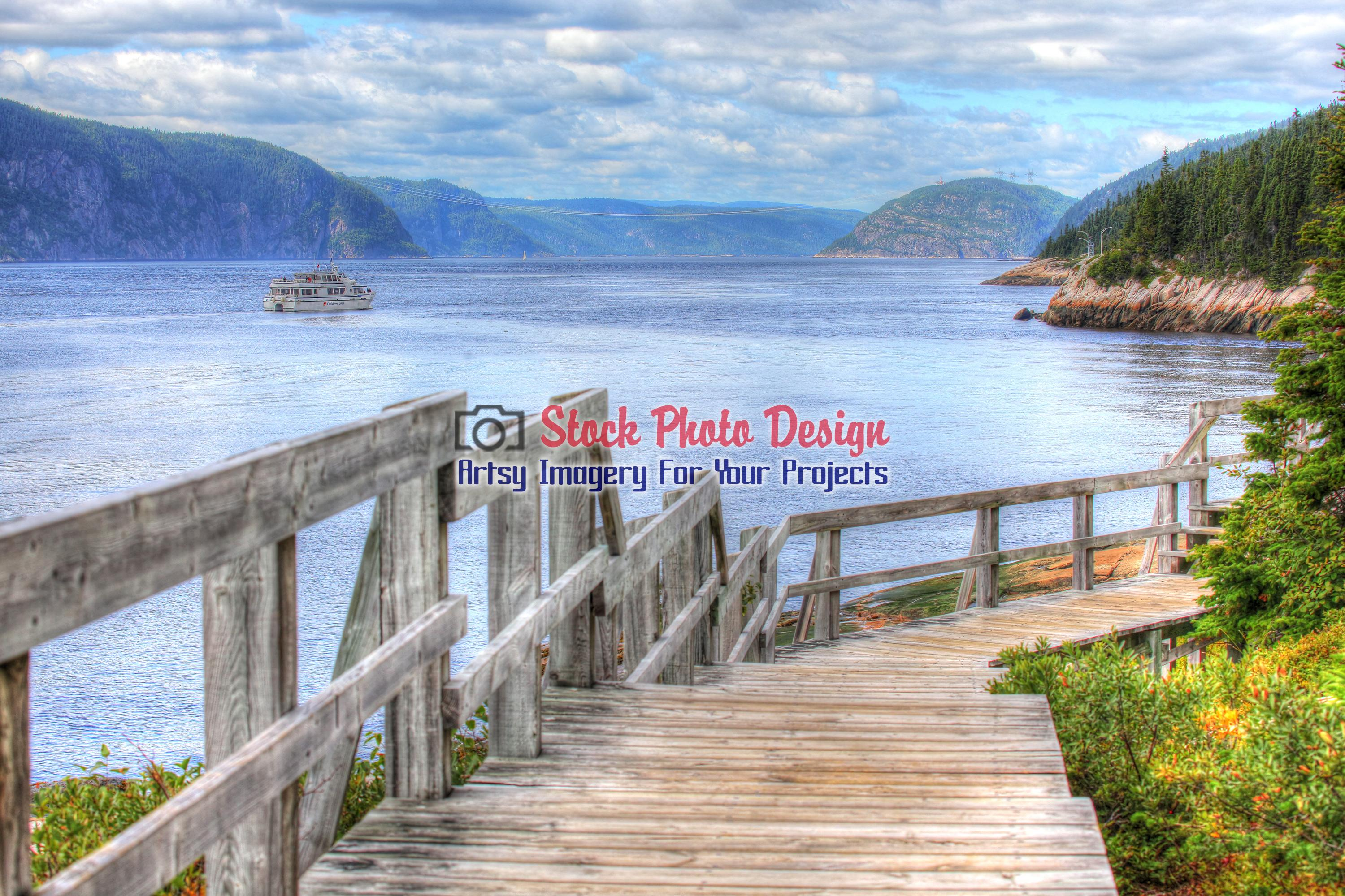 Saguenay River in HDR - Dimensions: 3000 by 2000 pixels