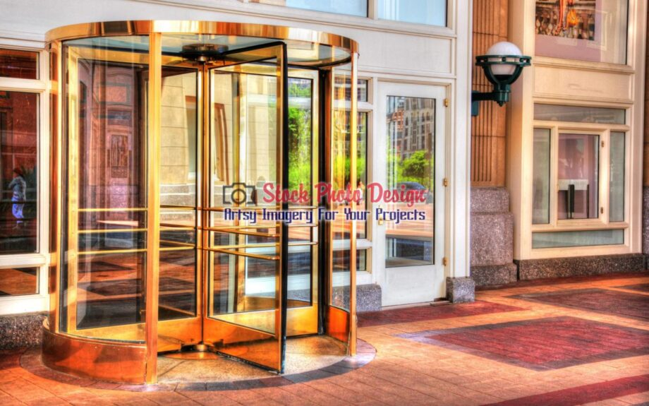 Golden Door in HDR