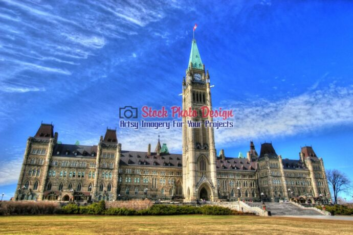 Ottawa Parliament Building in HDR 2
