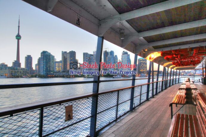Toronto Ferry in HDR