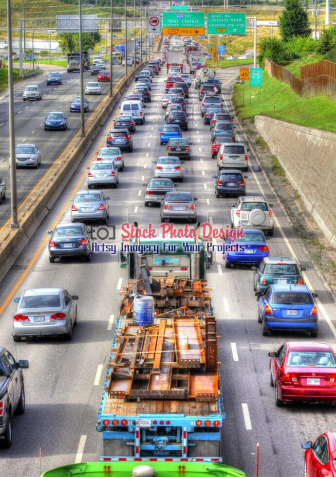 Leaving Highway Traffic in HDR