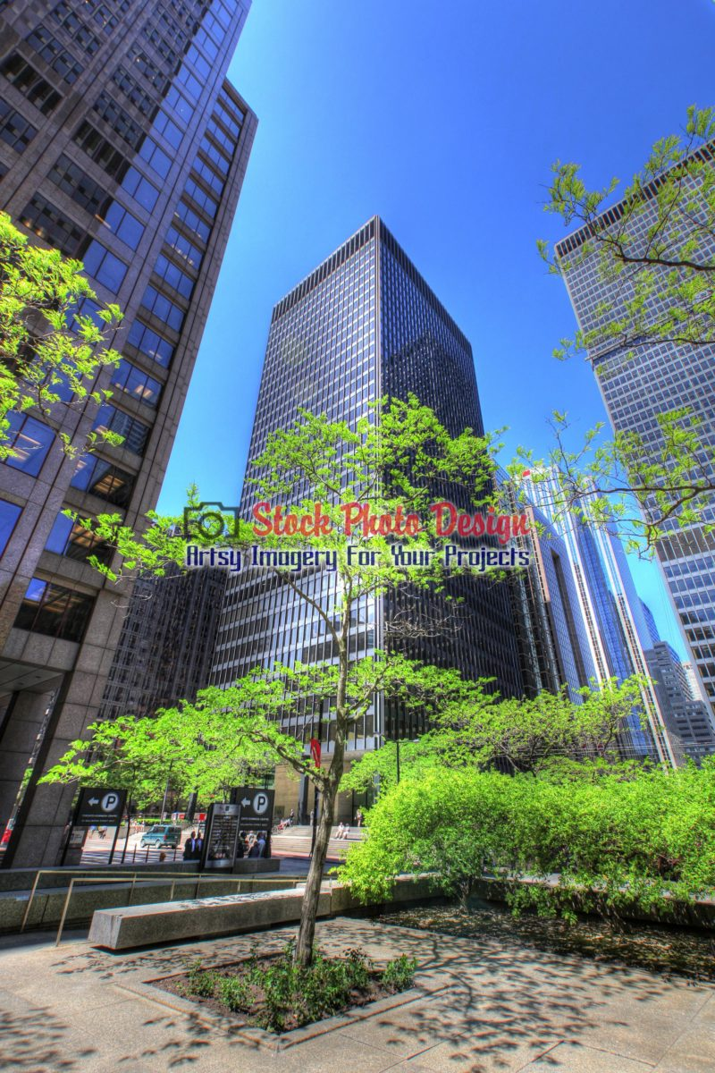 Modern Skyscrapers in HDR - Dimensions: 2000 by 3000 pixels