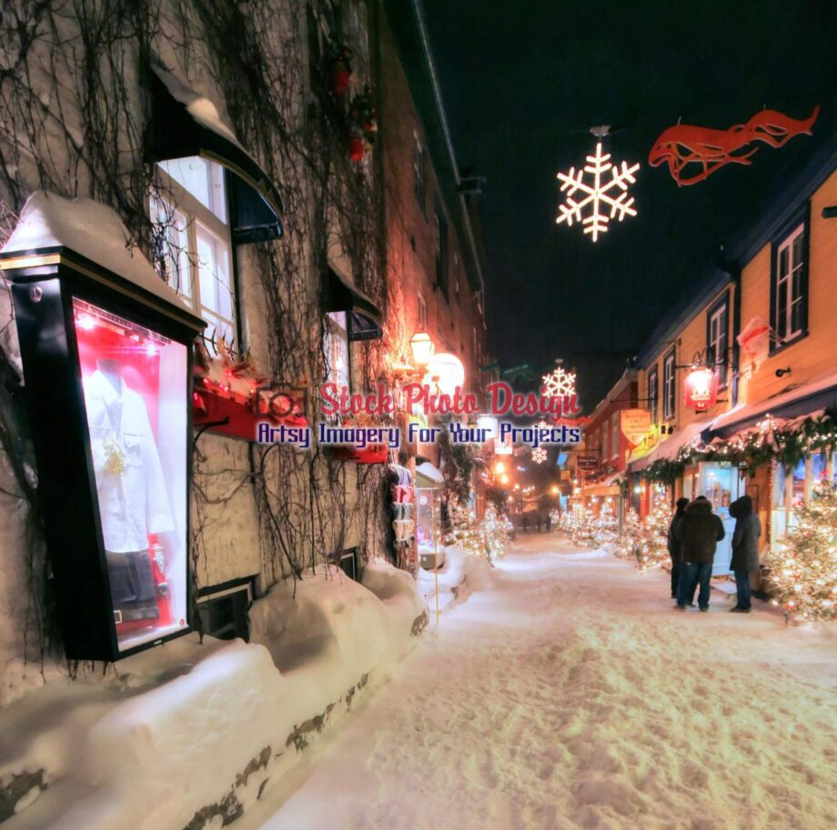 Old Quebec City District Alley in HDR 01