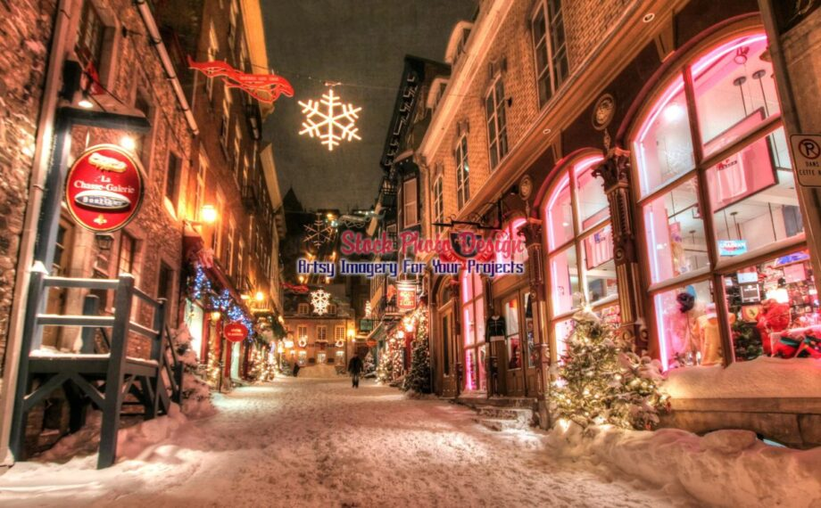 Old Quebec City District Alley in HDR 05