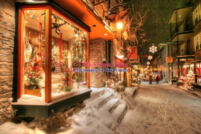 Old Quebec City District Alley in HDR 06