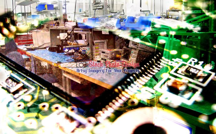 Electronic Industry Photo Montage 1