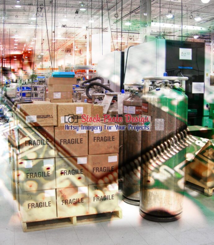 Electronic Industry Photo Montage 2