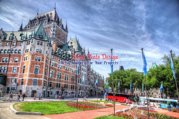 Quebec City Frontenac Castle 01