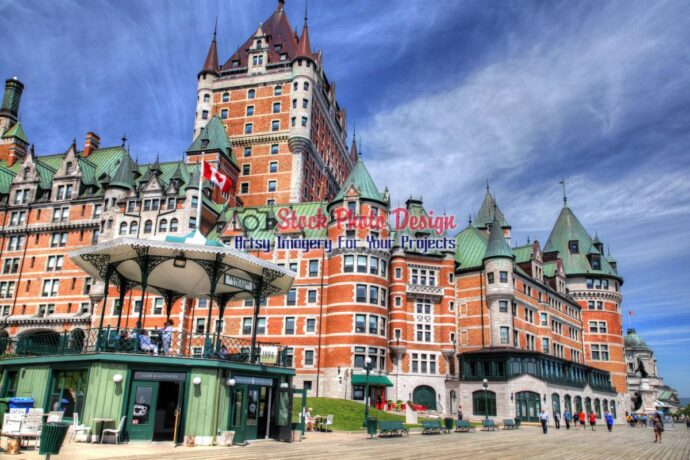 Quebec City Frontenac Castle 02