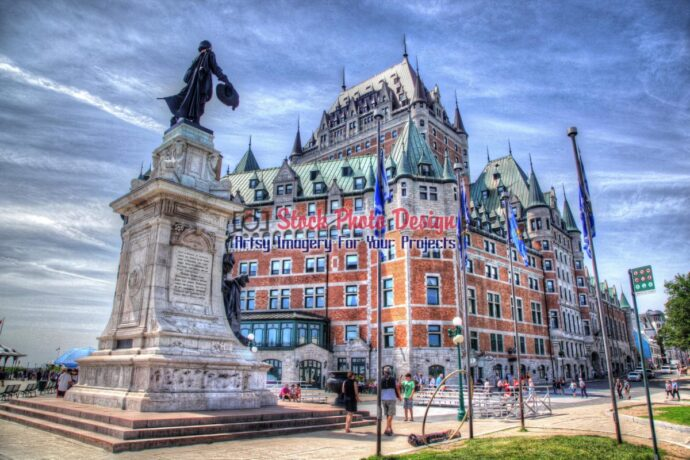 Quebec City Frontenac Castle 03