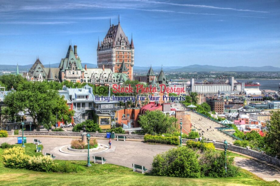 Quebec City Frontenac Castle 04