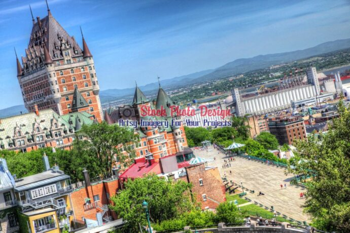 Quebec City Frontenac Castle 05
