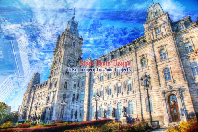 Quebec Parliament Photo Montage 1