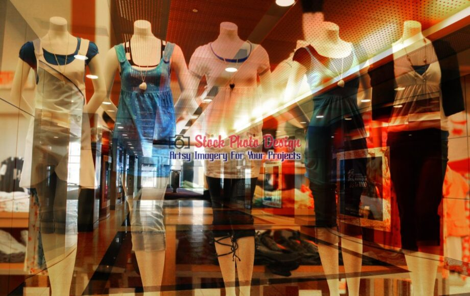 Store Mannequins Photo Montage 1